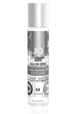 Массажный гель-лубрикант на силиконовой основе All-in-one Massage Glide Fragrance Free без запаха (30 мл)