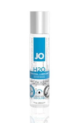 Классический охлаждающий лубрикант на водной основе JO H2O Cool (30 мл)