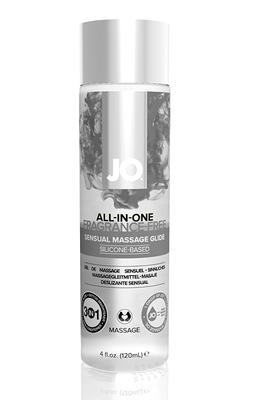 Массажный гель-лубрикант на силиконовой основе ALL-IN-ONE Massage Glide FRAGRANCE FREE без запаха (120 мл)