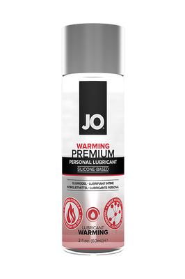 Классический возбуждающий лубрикант на силиконовой основе JO Premium Warming (60 мл)
