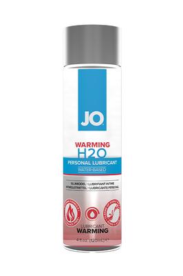Классический согревающий лубрикант на водной основе JO H2O Warming (120 мл)