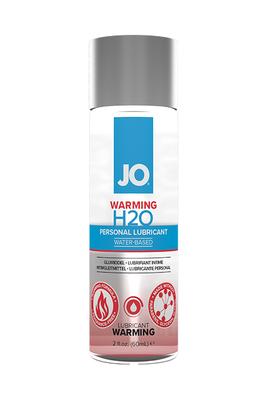 Классический возбуждающий лубрикант на водной основе JO H2O Warming (60 мл)