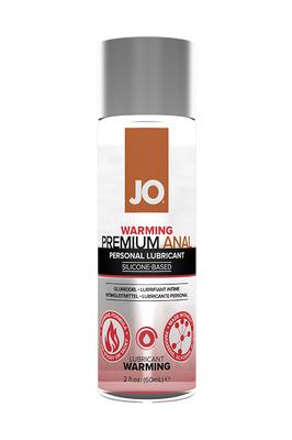 Анальный возбуждающий лубрикант на силиконовой основе JO Anal Premium Warming (60 мл)