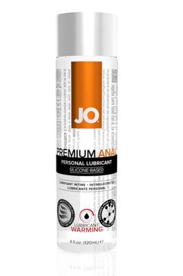Анальный возбуждающий лубрикант на силиконовой основе JO Anal Premium Warming (120 мл)