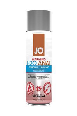 Анальный согревающий лубрикант на водной основе JO Anal H2O Warming (60 мл)