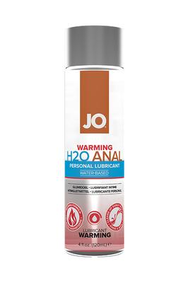 Анальный согревающий лубрикант на водной основе JO Anal H2O Warming (120 мл)