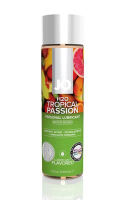 Оральный лубрикант со вкусом Тропических фруктов JO Flavored Tropical Passion (120 мл)