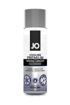 Охлаждающий лубрикант на силиконовой основе JO Premium Cool (60 мл)