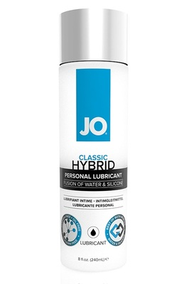 Лубрикант-гибрид водно-силиконовый JO LUBRICANT HYBRID (240 мл)