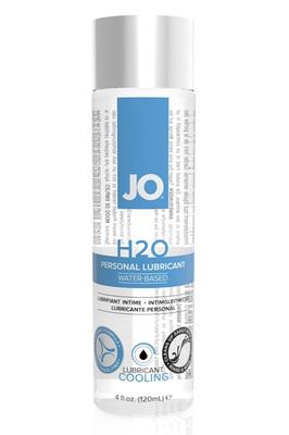 Классический охлаждающий лубрикант на водной основе JO H2O Cool (120 мл)