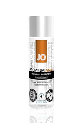 Анальный охлаждающий лубрикант на силиконовой основе JO Anal Premium COOL (60 мл)