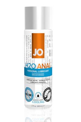 Анальный охлаждающий лубрикант на водной основе JO Anal H2O Cool (60 мл)