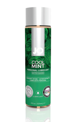 Орально-вагинальный лубрикант на водной основе Мята JO Flavored Cool Mint H2O (120 мл)