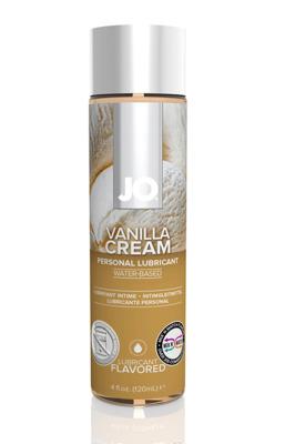 Орально-вагинальный лубрикант на водной основе Ваниль JO Flavored Vanilla H2O (120 мл)