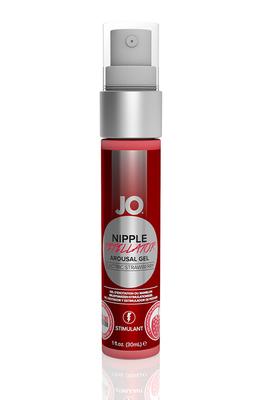Возбуждающий гель для сосков JO Nipple Titillator Снежная клубника (Electric Strawberry) (30 мл)