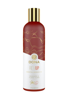 Массажное масло Dona с ароматом мандарина и иланг-иланга (120 мл)