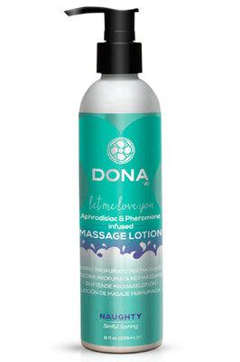 Увлажняющий лосьон для массажа DONA Massage Lotion Naughty Aroma: Sinful Spring (235 мл)