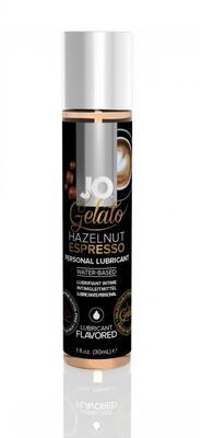 Лубрикант для вагинального и орального секса JO Gelato эспрессо с лесным орехом (30 мл)