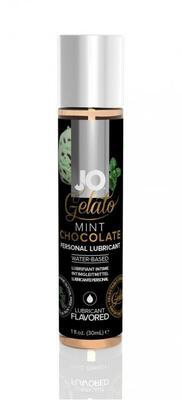 Вкусовой лубрикант Мятный шоколад на водной основе JO Gelato Mint Chocolate Flavored Lubricant (30 мл)