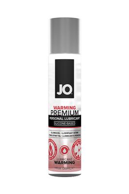Классический возбуждающий лубрикант на силиконовой основе JO Premium Warming (30 мл)