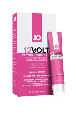 """Возбуждающая сыворотка мощного действия с эффектом """"жидкой вибрации"""" JO 12 Volt (10 мл)"""