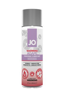 Согревающий легкий гипоаллергенный лубрикант JO AGAPE WARMING (60 мл)
