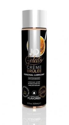 Гелевый вкусовой лубрикант на водной основе Крем Брюле JO Gelato Creme Brulee Flavored Lubricant (120 мл)