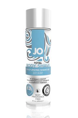 Гель для интимного бритья без раздражений Jo Total Body Shave ANTI-BUMP - FRAGRANCE FREE без запаха (240 мл)