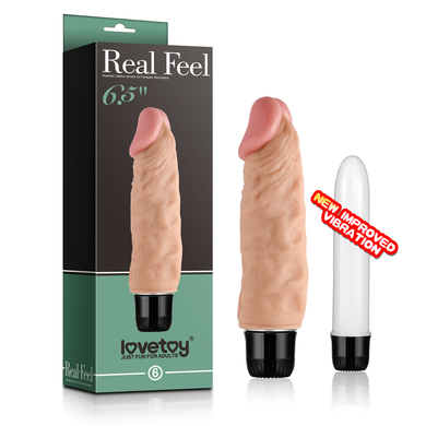 Реалистичный вибратор Real Feel 13 5 см