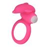 Виброкольцо X-Basic Dolphin Silicone Cockring розовое