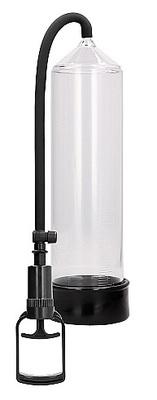 Ручная вакуумная помпа для мужчин с насосом в виде поршня Comfort Beginner Pump прозрачная