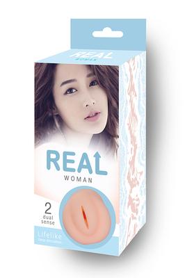 """Ультра-реалистичный мастурбатор-вагина """"Real Woman"""" Азиатка"""