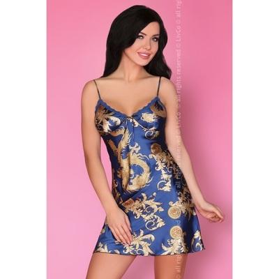 Синяя сорочка Dragana Monaco XL