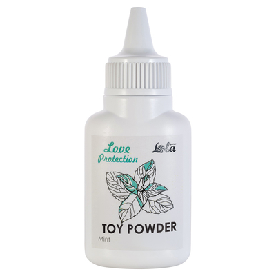 Пудра для игрушек Love Protection с ароматом мяты (15 г)