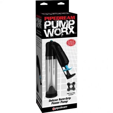 Вакуумная помпа для пениса Pump Worx Deluxe Sure-Grip Pump