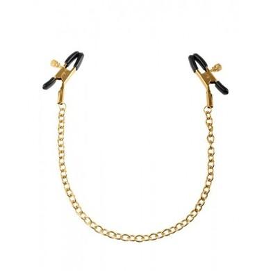 Зажимы для сосков FF Gold Chain Nipple Clamps