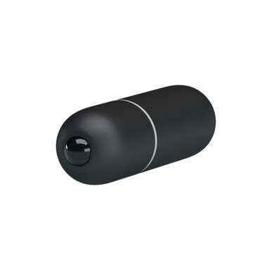 Вибропуля Mini Vibe черная с 10 функциями вибрации