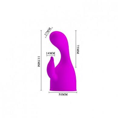 Насадка для вибро-массажёра пурпурная Darcy