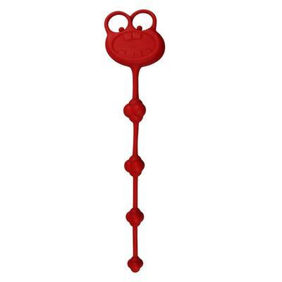 Универсальный силиконовый стимулятор красный Silicone Frog