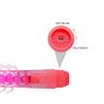 Необычный розовый вибратор с усиками и хребтом