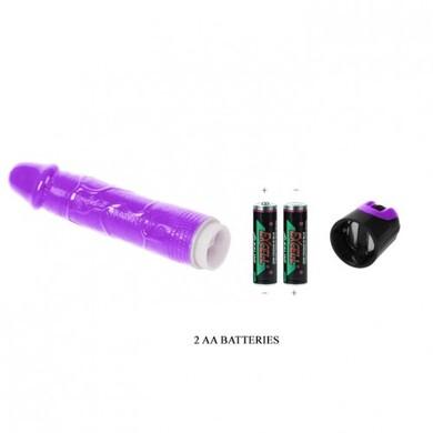 Реалистичный фиолетовый  вибратор