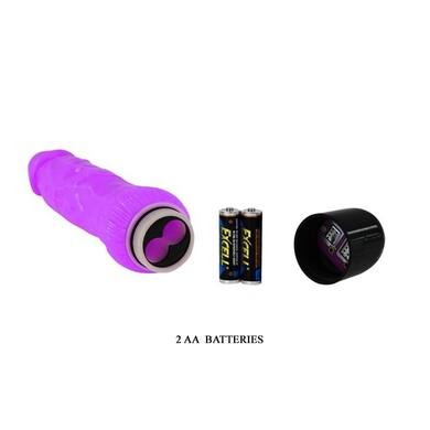 Вибратор реалистичный фиолетовый