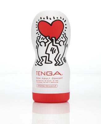 Мастурбатор TENGA&Keith Haring Original Vacuum Cup (ОРИГИНАЛ)