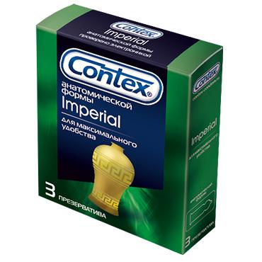 Презервативы Contex №3 Imperial плотнооблегающие