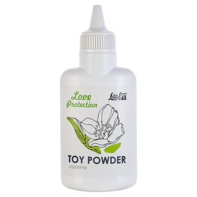 Пудра для игрушек Love Protection с ароматом жасмина (30 г)