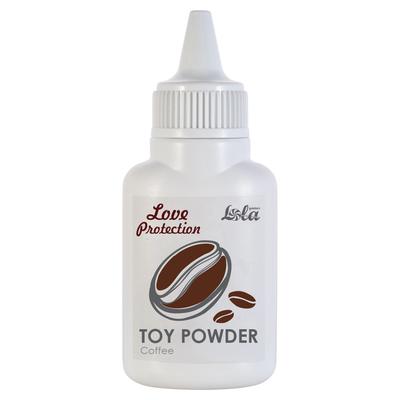 Пудра для игрушек Love Protection с ароматом кофе (15 г)