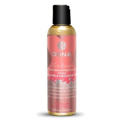 Массажное масло Dona Kissable Vanilla Buttercream (125 мл)