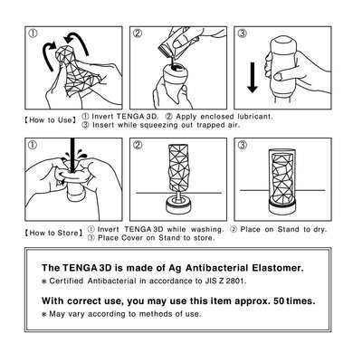 Мастурбатор Tenga 3D Module (ОРИГИНАЛ)