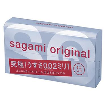 Полиуретановые презервативы Sagami Original 0,02 (6 шт)