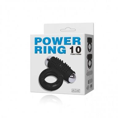Эрекционное кольцо с вибрацией Power Ring